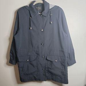 Sequence | 9/10 | Long Rain Jacket Cinch Waist